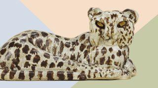 Michael Schilkinin Leopardi vuodelta 1961. Teos on esillä Lotta Mattilan suunnittelemassa ympäristössä, EMMAssa.